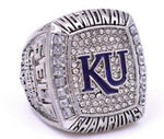 2008 Kansas Jayhawks Basketball HQ Replica Championship Ring [Bill Self]