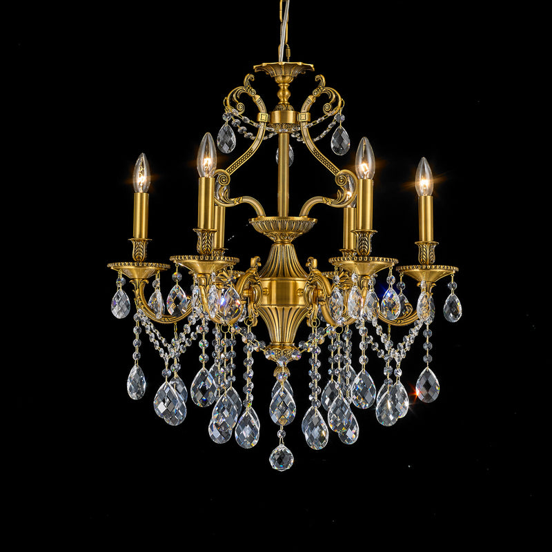 StarFire 5106AB Imperial Six Light Chandelier