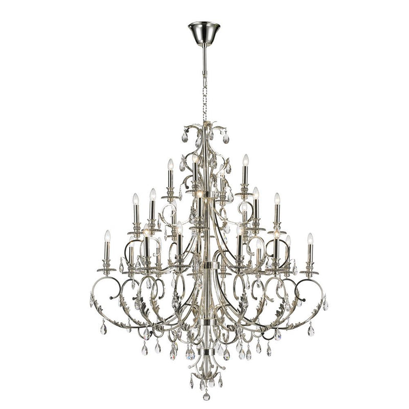 StarFire 5724CH Magnolia 24 Light Chandelier