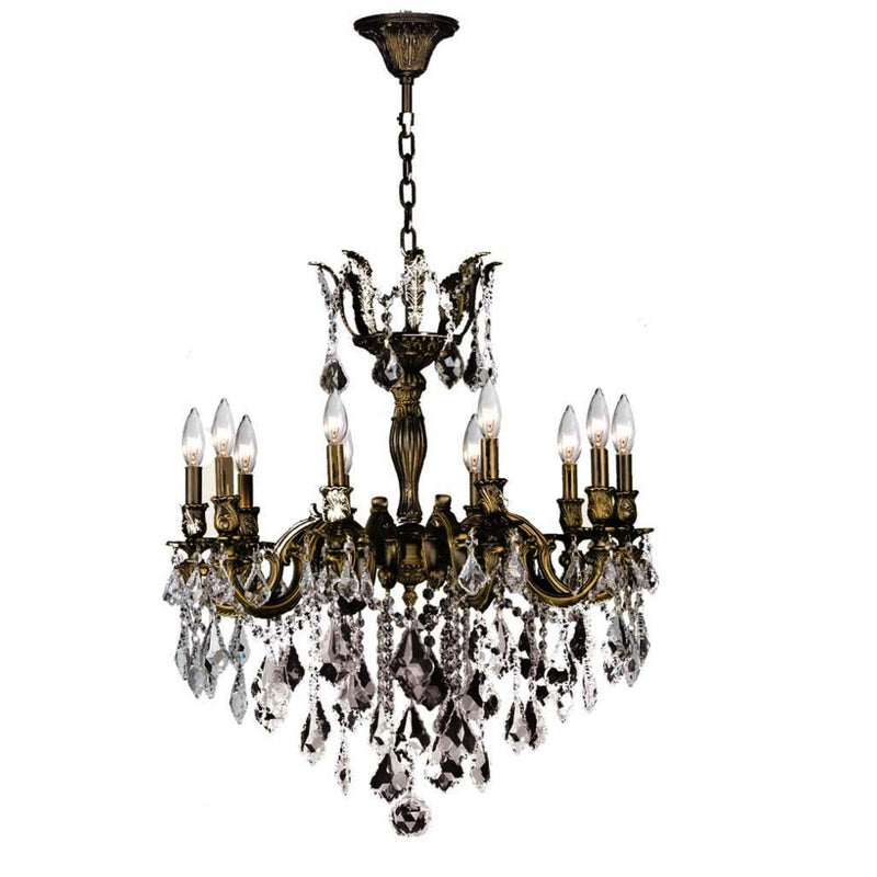 StarFire 5910OB Majestic Ten Light Chandelier