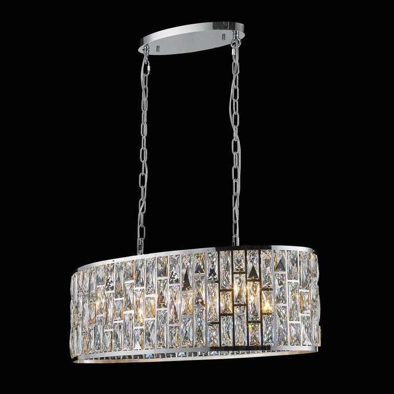 StarFire 7532CH Camden Eight Light Chandelier