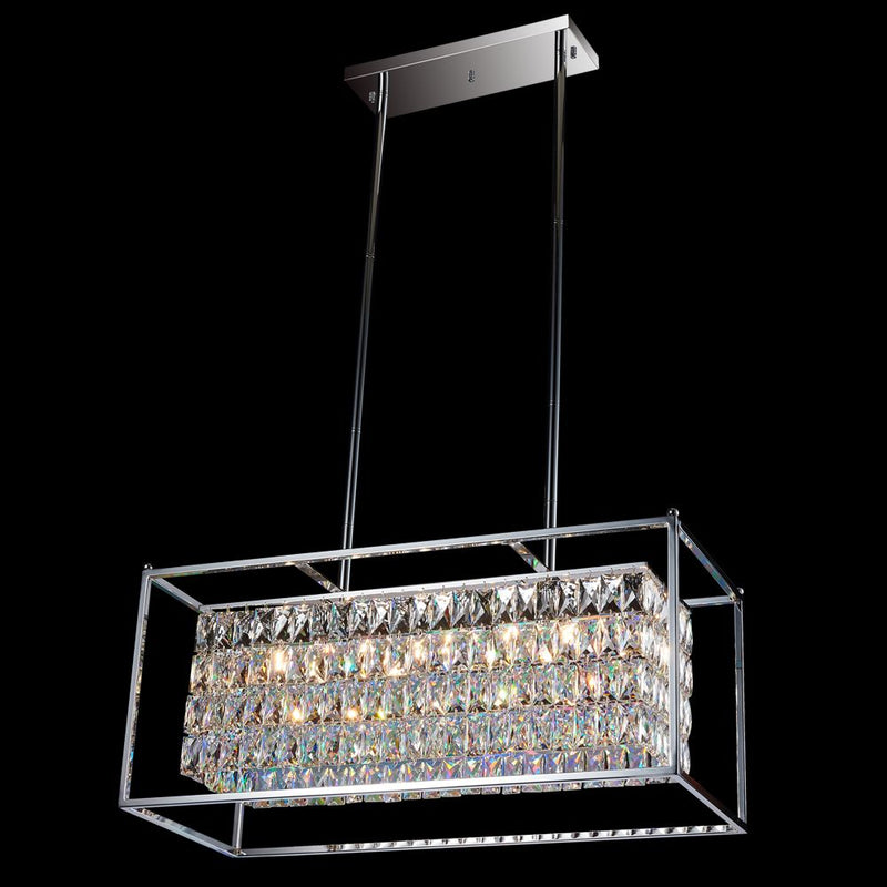 StarFire 1032CH Cages 12 Light Pendant