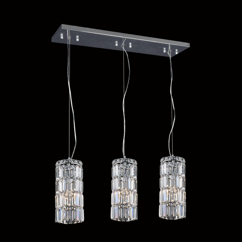 StarFire 7713CH Magnum Three Light Pendant