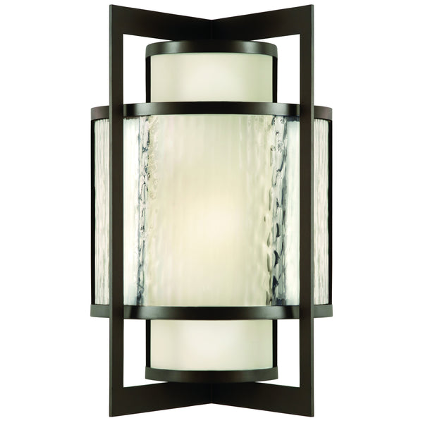 Fine Art 818181ST Singapore Moderne Outdoor Two Light Outdoor Wall Sconce