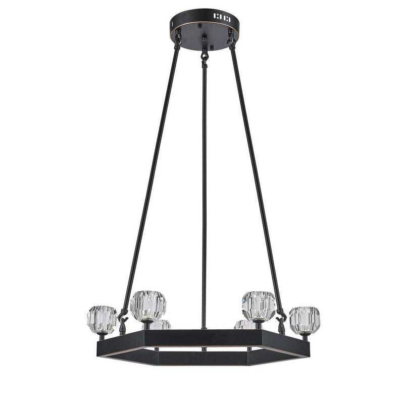 StarFire 2006OB Sole Six Light Pendant