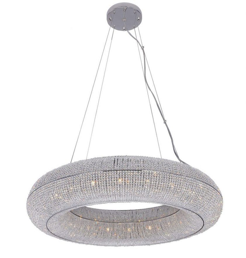 StarFire 7236CH Luna 20 Light Chandelier