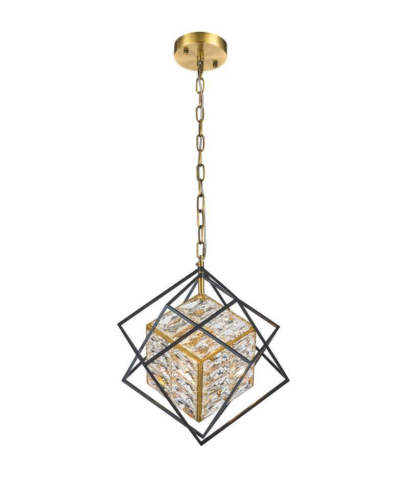 StarFire 2113BB Cages Three Light Chandelier