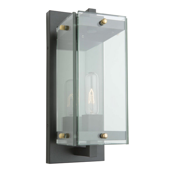 Artcraft AC8121BK Bradgate One Light Outdoor Wall Mount