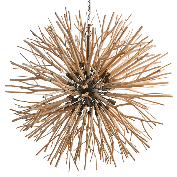 Arteriors 89560 Finch Eight Light Chandelier