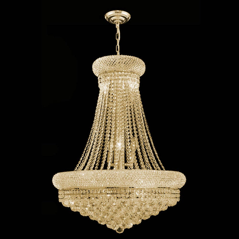 StarFire 7124GD Empire 14 Light Chandelier