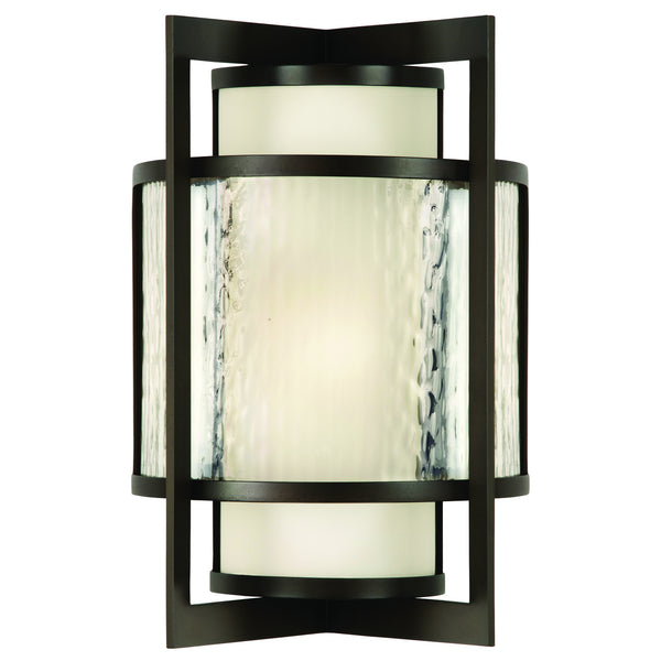 Fine Art 818281ST Singapore Moderne Outdoor Two Light Outdoor Wall Sconce