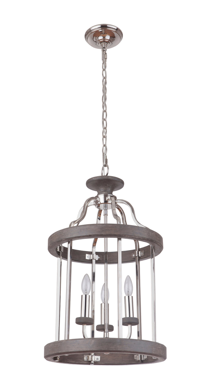Craftmade 36533-PLNGRW Three Light Foyer Pendant