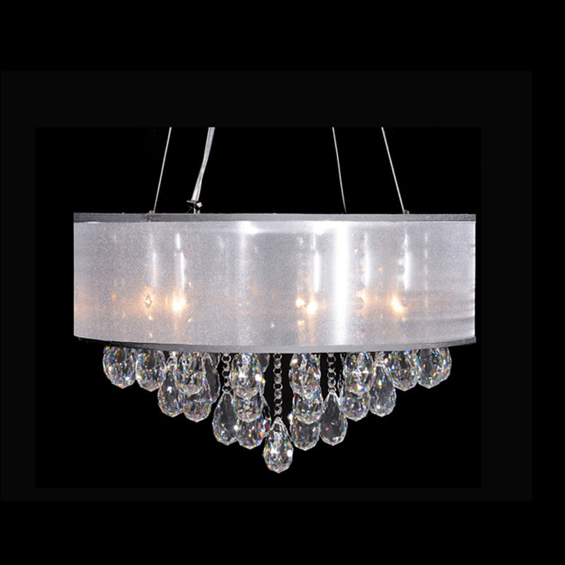 StarFire 4218CH Shield Six Light Chandelier