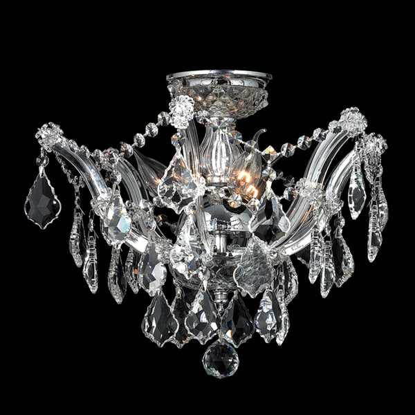 StarFire 6316CH Maria Teresa Classic Three Light Close to Ceiling
