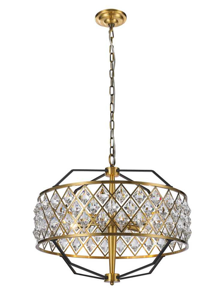 StarFire 6724BB Apollo Six Light Chandelier