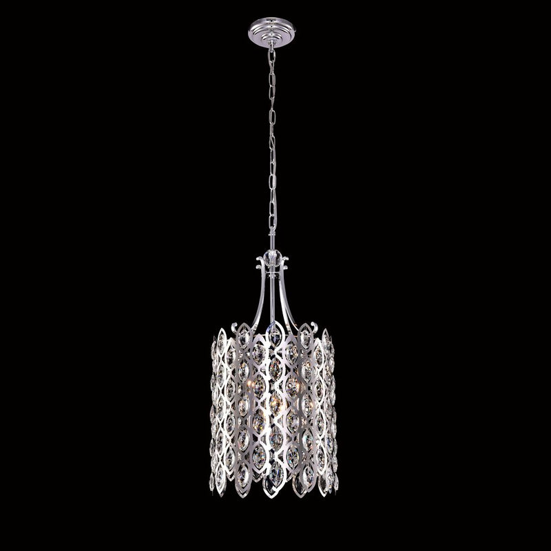 StarFire 6612CH Library Four Light Chandelier