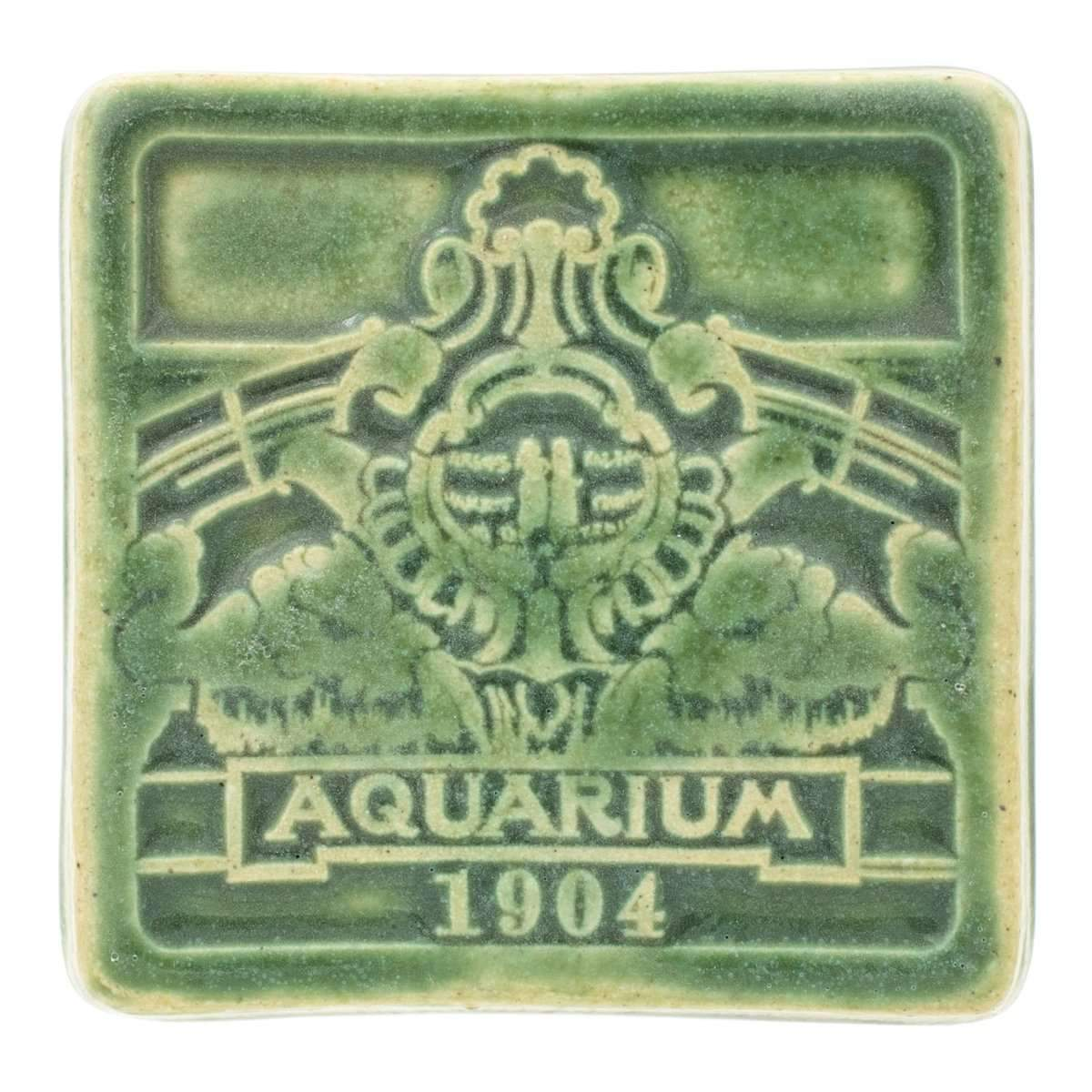 Belle Isle Aquarium Pewabic Tile - Pure Detroit