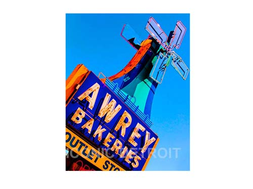Awrey Bakery Factory Sign Luster or Canvas Print $35 - $430 - Pure Detroit