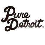 "Hand-Made 16"" x 13"" Teal Detroit + Belle Isle Pillow - Pure Detroit"