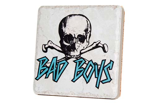 Detroit Pistons Bad Boys Porcelain Tile Coaster - Pure Detroit