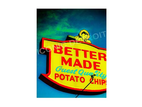 Better Made Luster or Canvas Print $35 - $430 - Pure Detroit