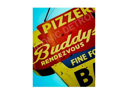 Buddy's Pizza Luster or Canvas Print $35 - $430 - Pure Detroit
