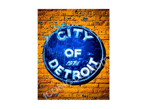 City of Detroit Luster or Canvas Print $35 - $430