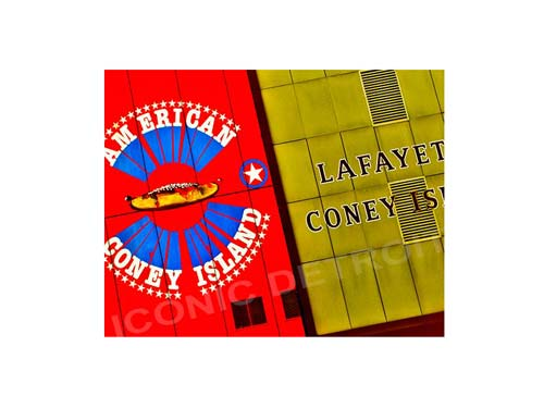 Coney Island Brotherhood Luster or Canvas Print $35 - $430 - Pure Detroit