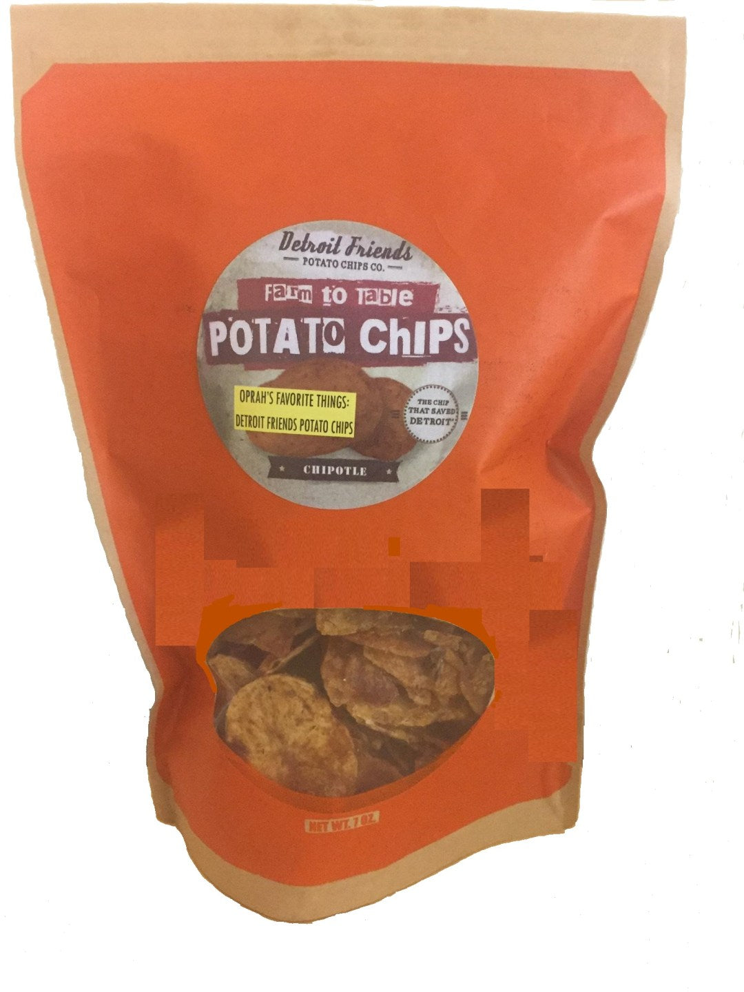 Detroit Friends Potato Chips - Chipotle - Pure Detroit