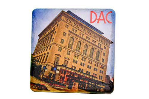 Detroit Athletic Club Porcelain Tile Coaster