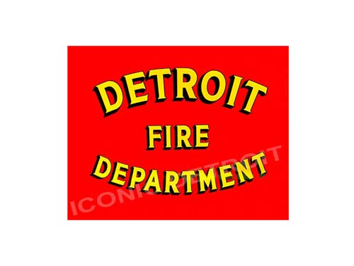 Detroit Fire Department Luster or Canvas Print $35 - $430 - Pure Detroit