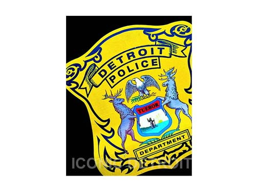 Detroit Police Department Luster or Canvas Print $35 - $430 - Pure Detroit
