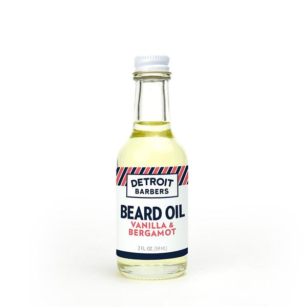 Detroit Barbers 2 oz. Beard Oil - Vanilla & Bergamot - Pure Detroit