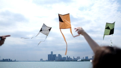 Tait Kaku Dako Kite Kite / Black & White - Pure Detroit