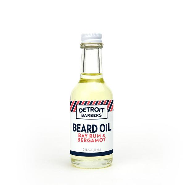 Detroit Barbers 2 oz. Beard Oil - Bay Rum & Bergamot