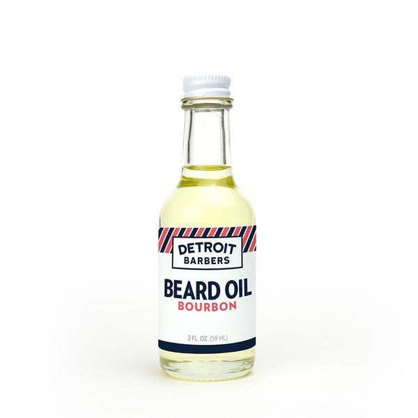 Detroit Barbers 2 oz. Beard Oil - Bourbon - Pure Detroit