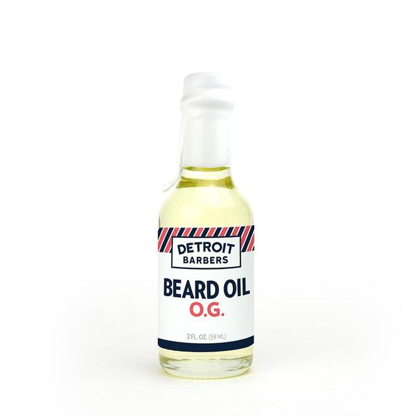 Detroit Barbers 2 oz. Beard Oil - O.G. - Cuban Tobacco, Cedar & Vanilla - Pure Detroit