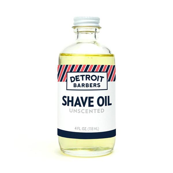 Detroit Barbers 4 oz. Shave Oil - Unscented