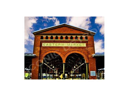 Eastern Market Luster or Canvas Print $35 - $430