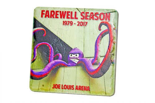 Al's Farewell Season Porcelain Tile Coaster