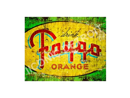 Vintage Faygo Luster or Canvas Print $35 - $430 - Pure Detroit