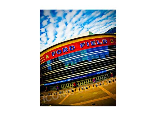 Ford Field Luster or Canvas Print $35 - $430 - Pure Detroit