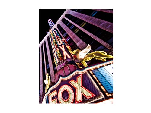 Fox Theatre Luster or Canvas Print $35 - $430
