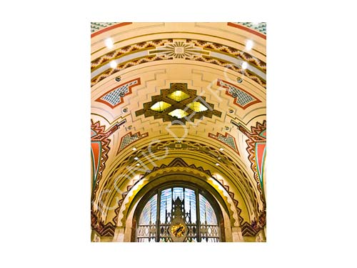 Guardian Building Clock Luster or Canvas Print $35 - $430