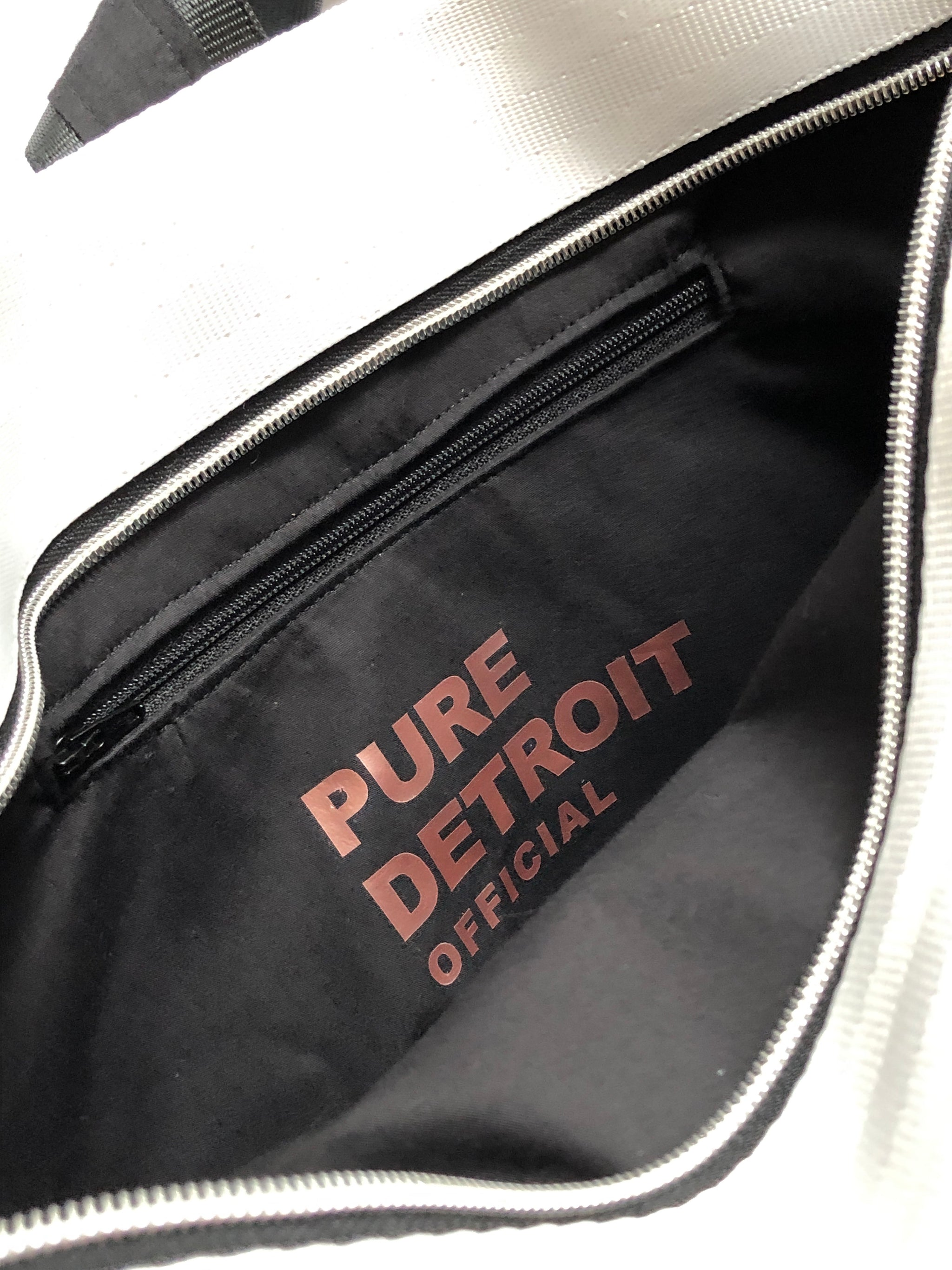 Pure Detroit OFFICIAL - Large Ring Tote Seatbelt Bag - Spectrum PRE ORDER - Pure Detroit