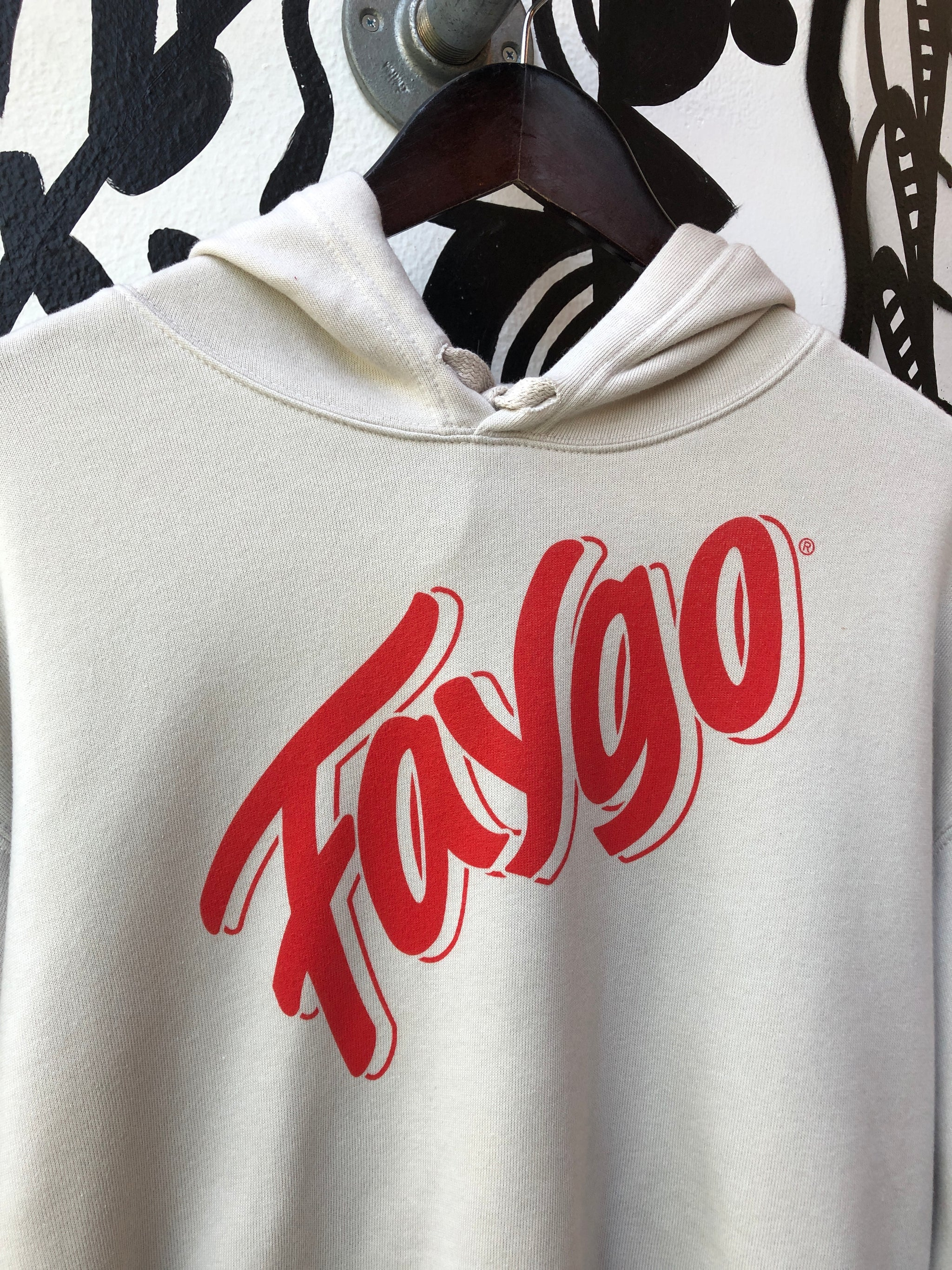Faygo Script Cropped Fleece Pullover / Heather Dust / Women's