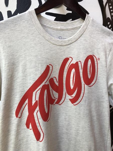 Faygo Script Tee / Heather Prism Natural / Unisex - Pure Detroit