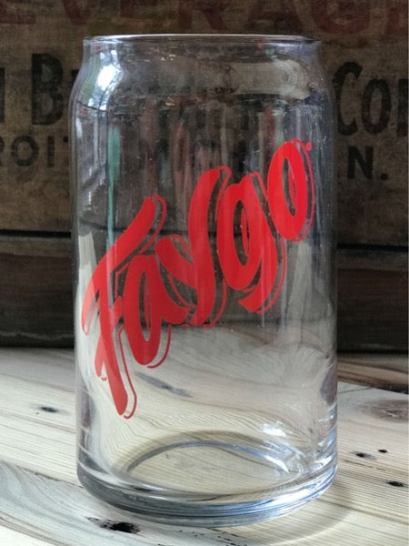 Faygo Red Can Glass 16oz - Pure Detroit