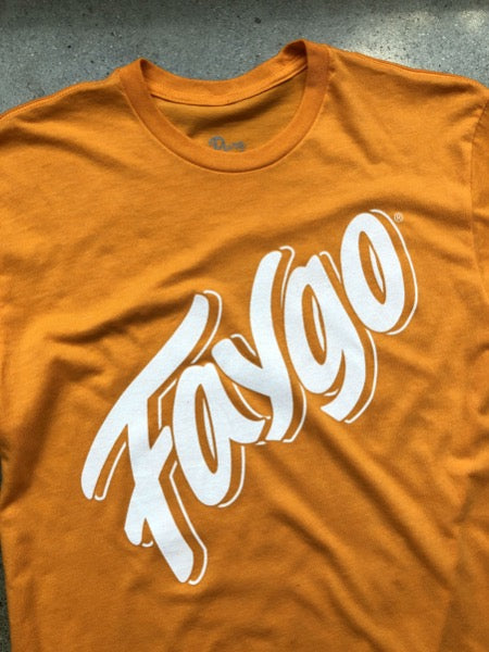 Faygo Script Tee / Orange / Unisex
