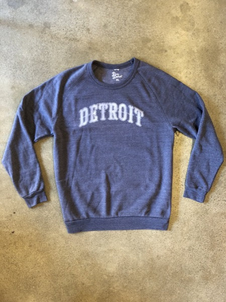 Detroit 1701 Sweatshirt / Fade + Eco True Navy / Unisex - Pure Detroit